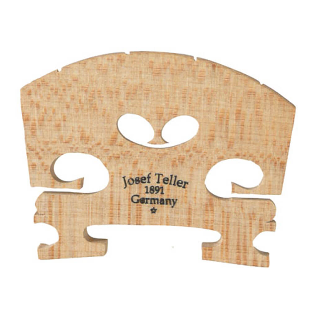 Teller Violin Bridge Fitted 1/4