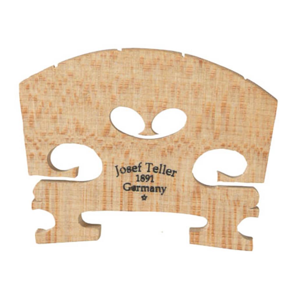 Teller Violin Bridge Fitted 1/8