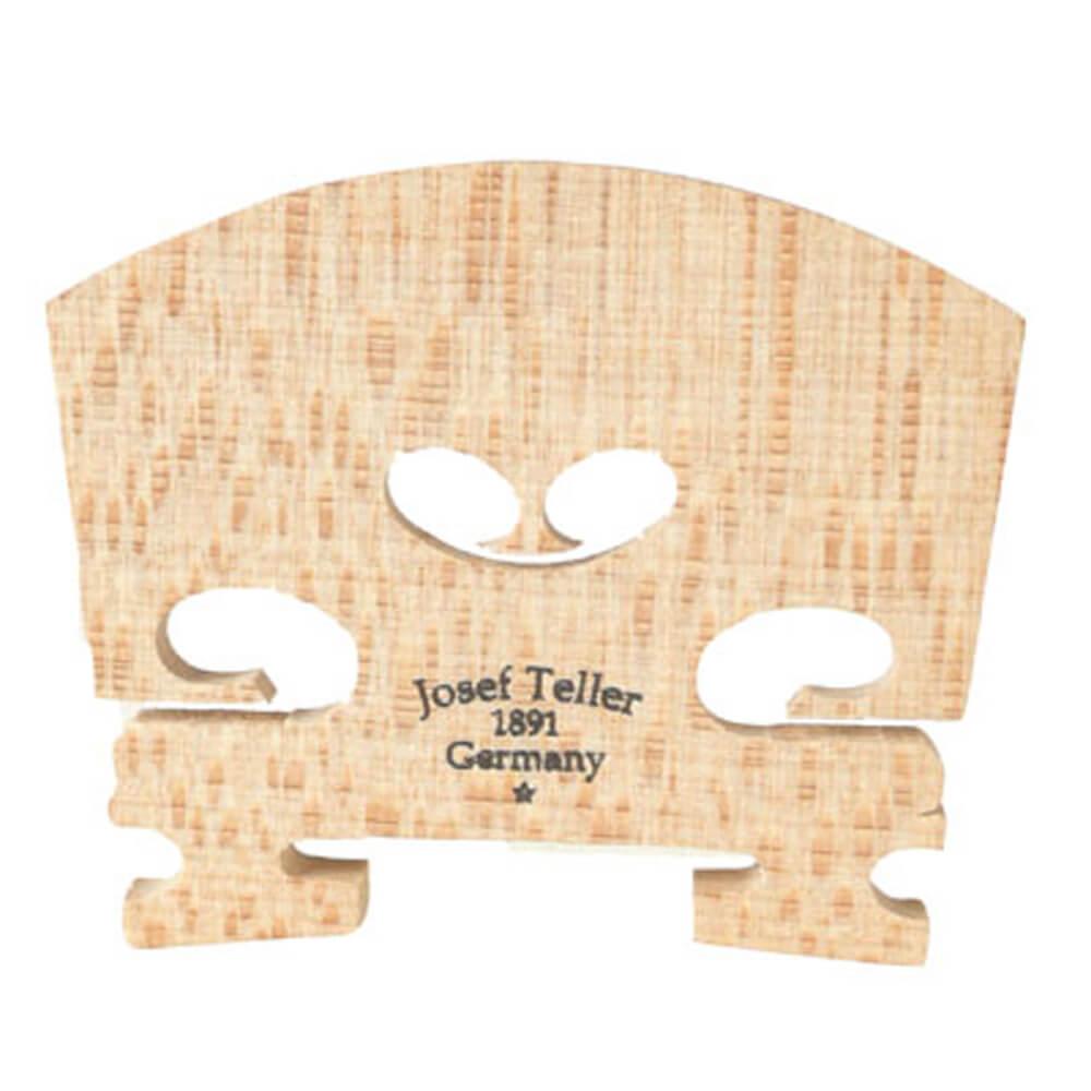 Teller Violin Bridge Unfitted 1/4