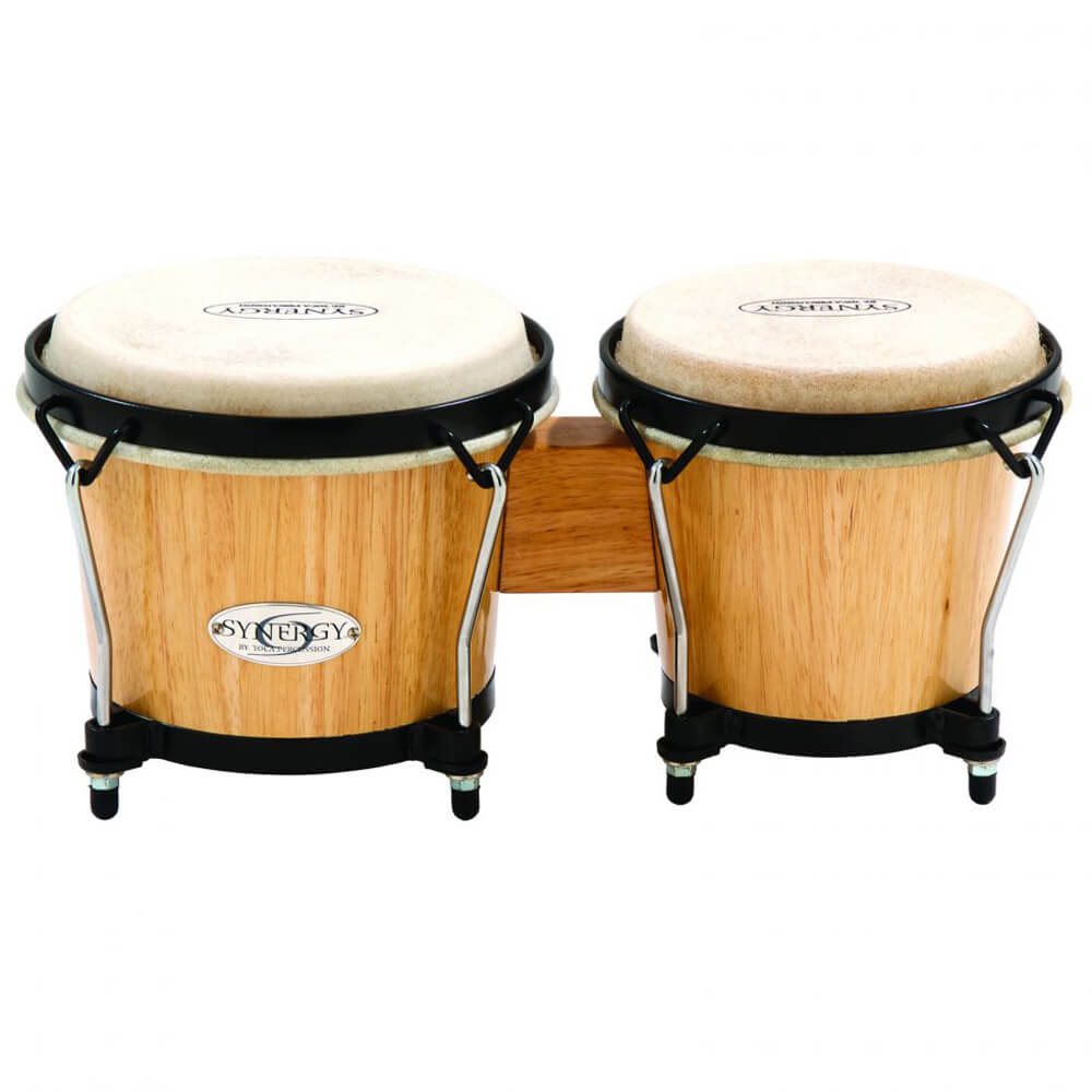 Toca 2100N Synergy Series Wood Bongos - Natural