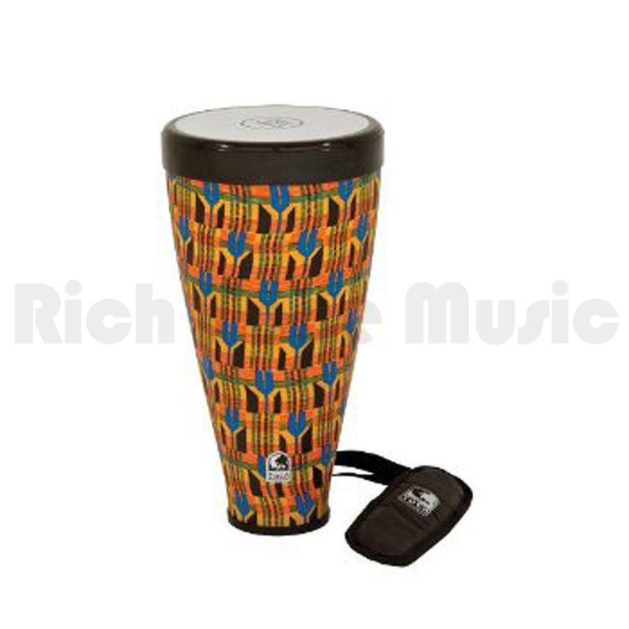 Toca TFLEX-JRK Flex Drum - w/Strap - Kente Cloth