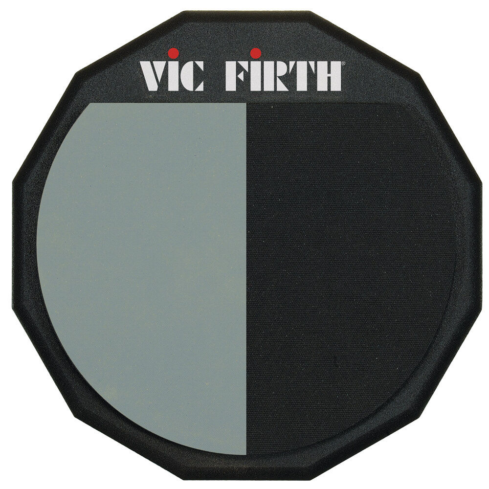 """Vic Firth Single Sided Split Face 12"""" Practice Pad"""