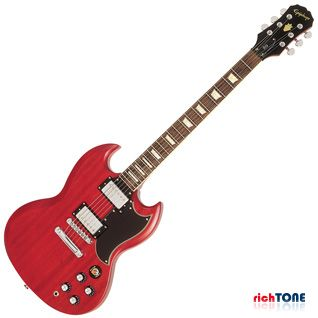 Epiphone G400 Vintage Worn Cherry - Chrome Hardware