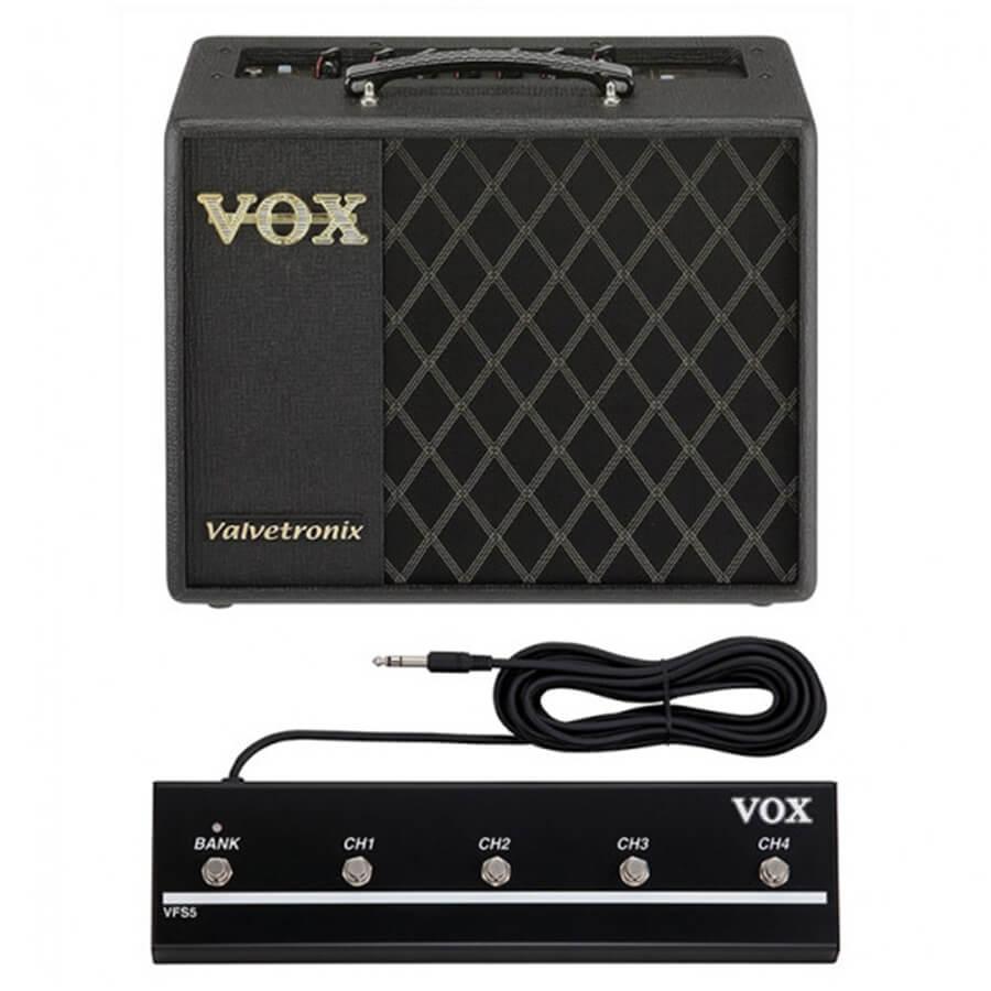 Vox VT20X Bundle - VT20X Amplifier & VFS-5 Foot Controller