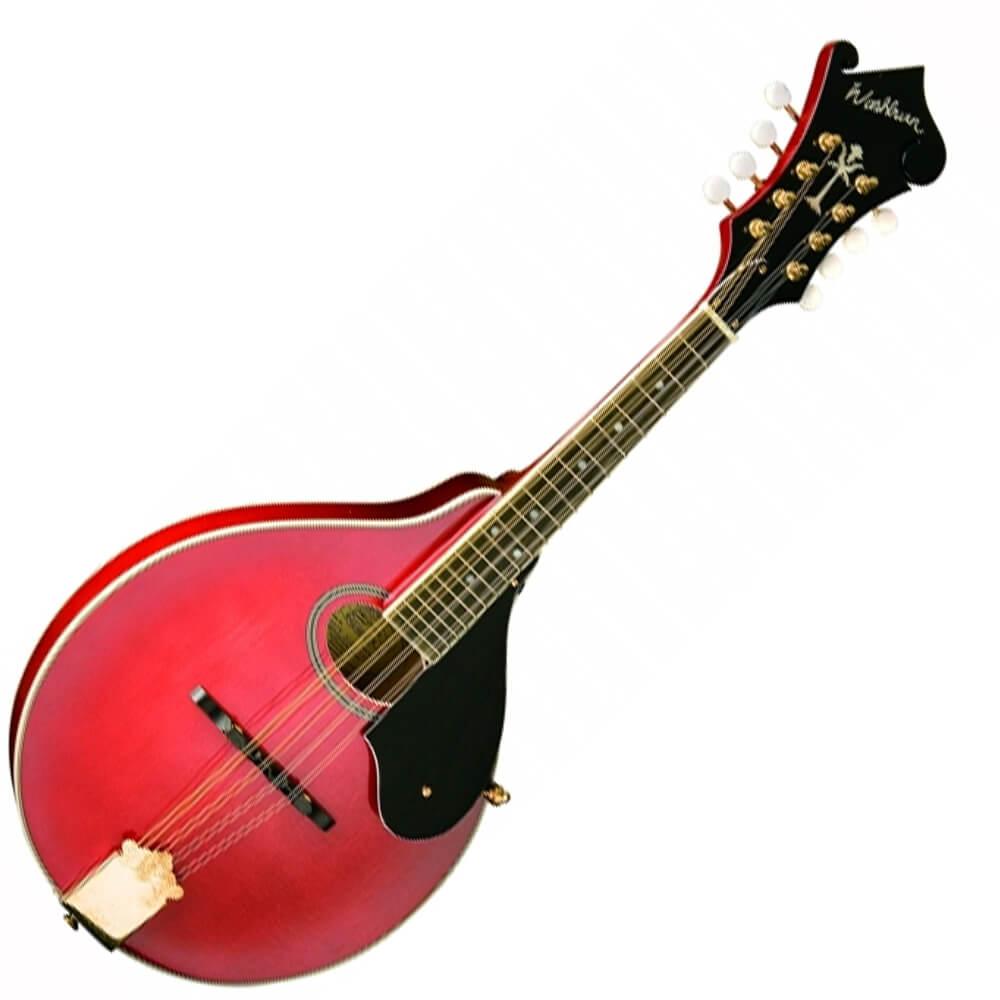 Washburn Americana M1SD-TR Mandolin - Trans Red