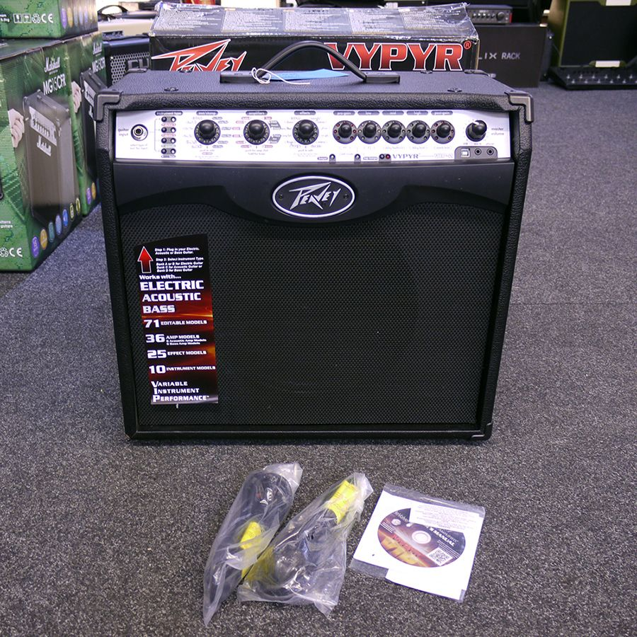 peavey combo guitar vypyr vip 2 ex demo shop sale only rich tone music. Black Bedroom Furniture Sets. Home Design Ideas
