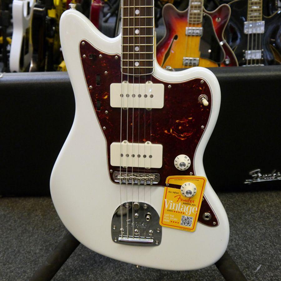 Fender American Vintage 65 Jazzmaster 2013 Olympic White - 2nd Hand