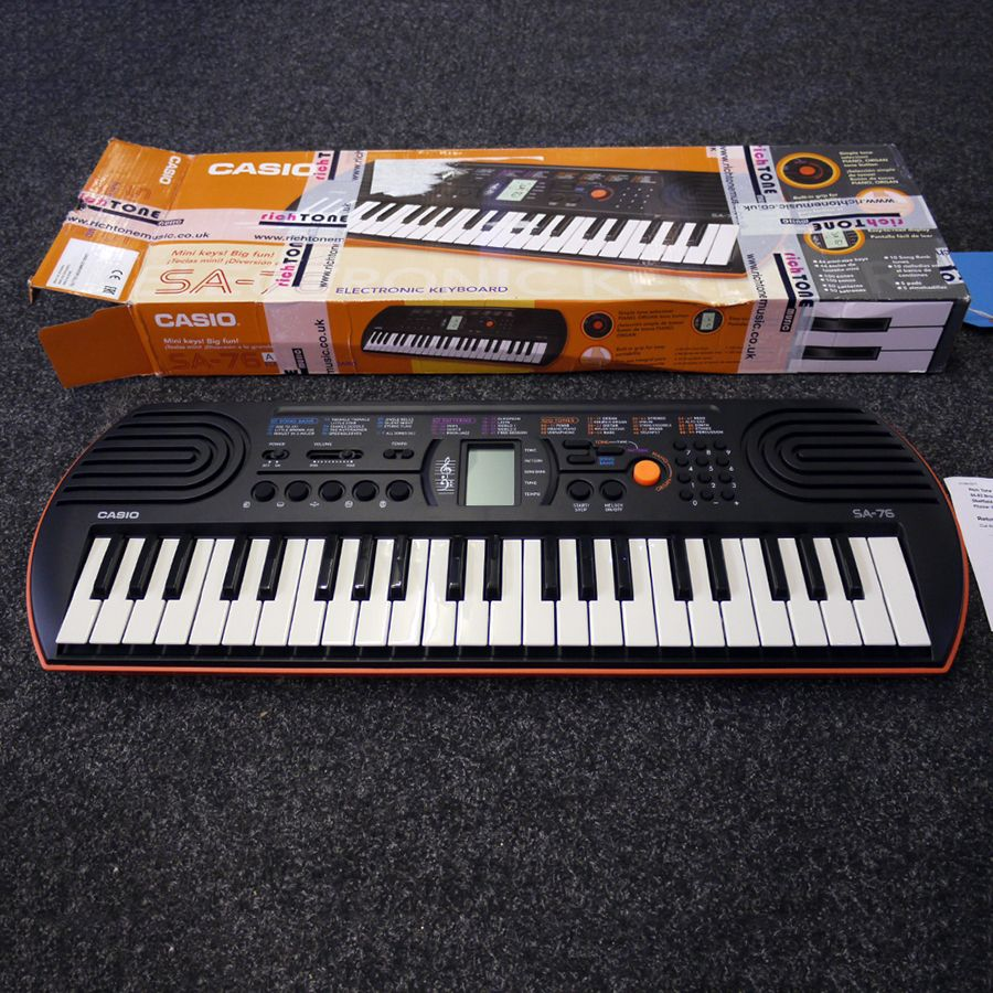 Casio sa 76 notes Casino - 2019