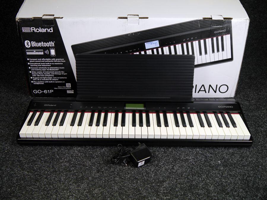 Piano Digital Roland Go 61p Preto Preto : roland go piano digital piano go 61p w box ex demo rich tone music ~ Hamham.info Haus und Dekorationen