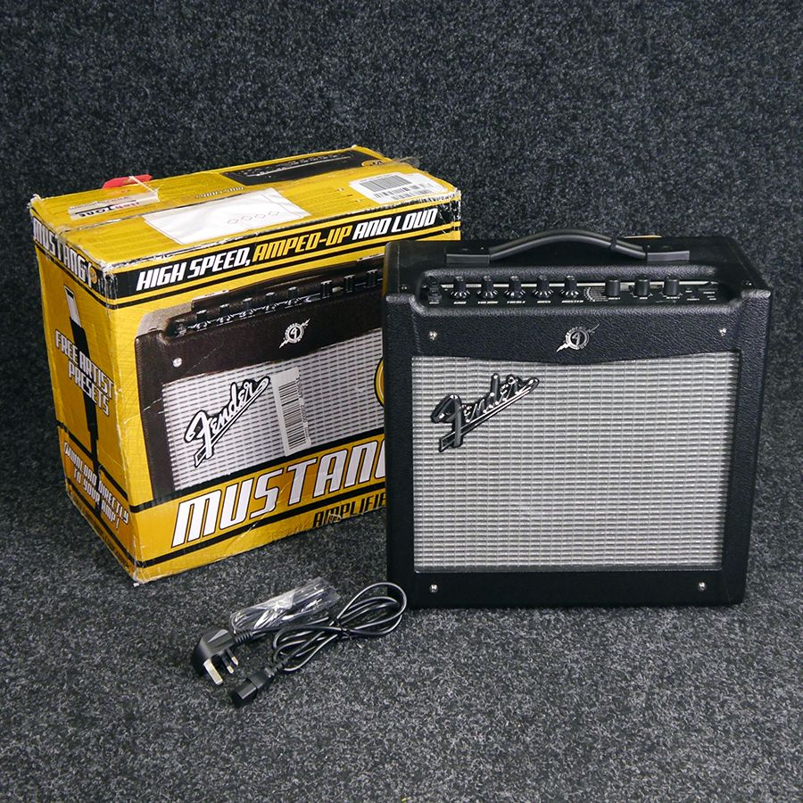 fender mustang i v2 combo amp w box ex demo rich tone music. Black Bedroom Furniture Sets. Home Design Ideas