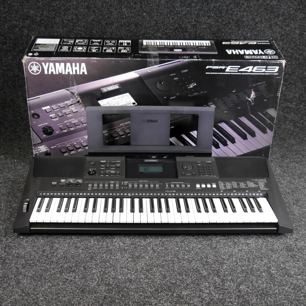 yamaha ex demo keyboards rich tone music. Black Bedroom Furniture Sets. Home Design Ideas