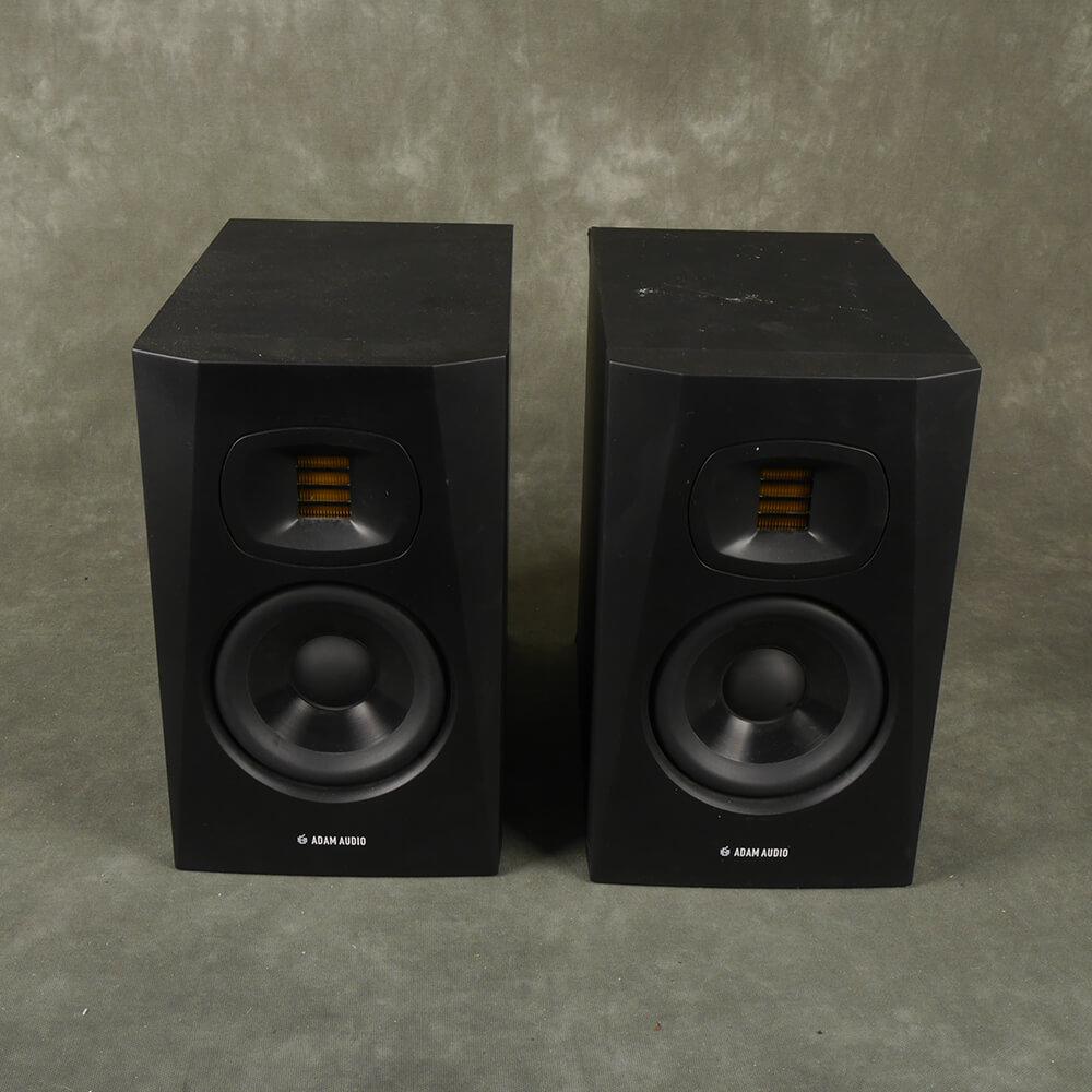 Adam Audio T5V Active Studio Monitor Pair - 2nd Hand