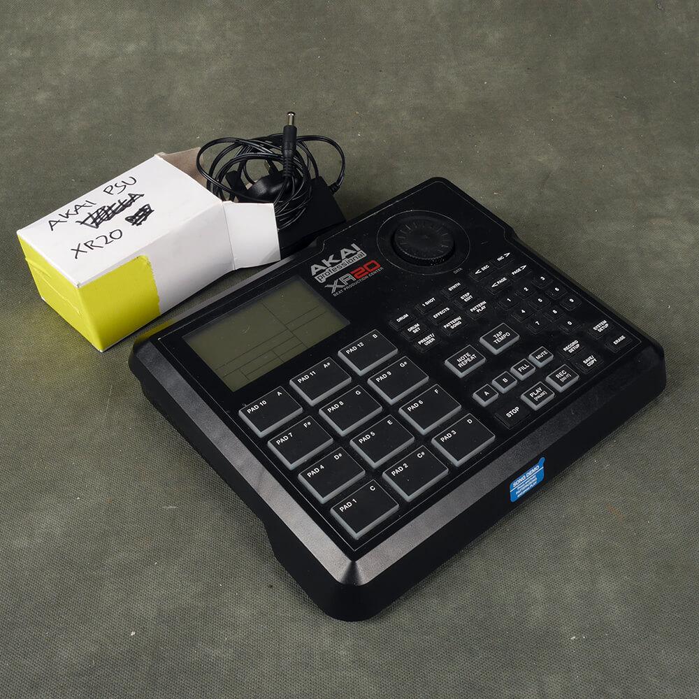 Akai XR20 Rhythm Sequencer Drum Machine w/PSU - 2nd Hand