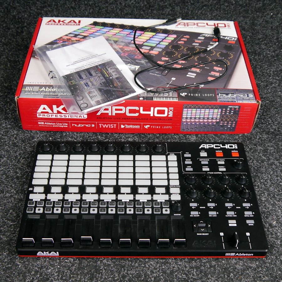 Akai APC40 MkII w/ Box - 2nd Hand