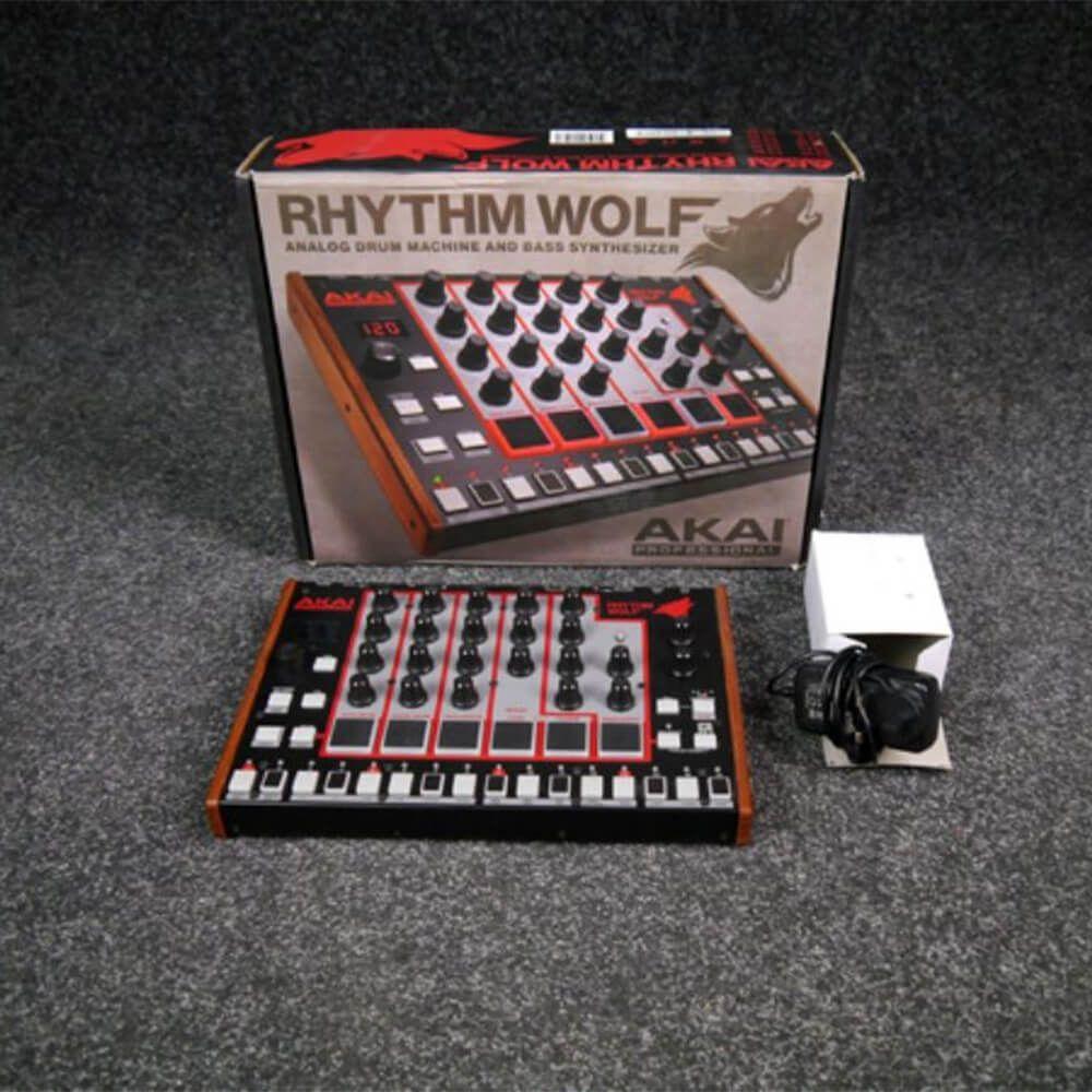 akai rhythm wolf analog drum machine bass synthesizer w box psu 2nd hand rich tone music. Black Bedroom Furniture Sets. Home Design Ideas