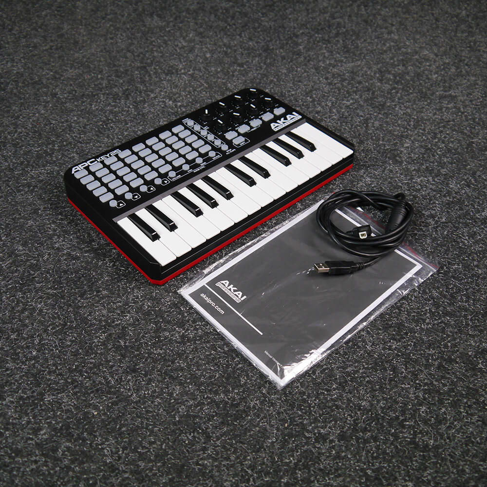 akai apc key 25 mini usb controller keyboard 2nd hand rich tone music. Black Bedroom Furniture Sets. Home Design Ideas