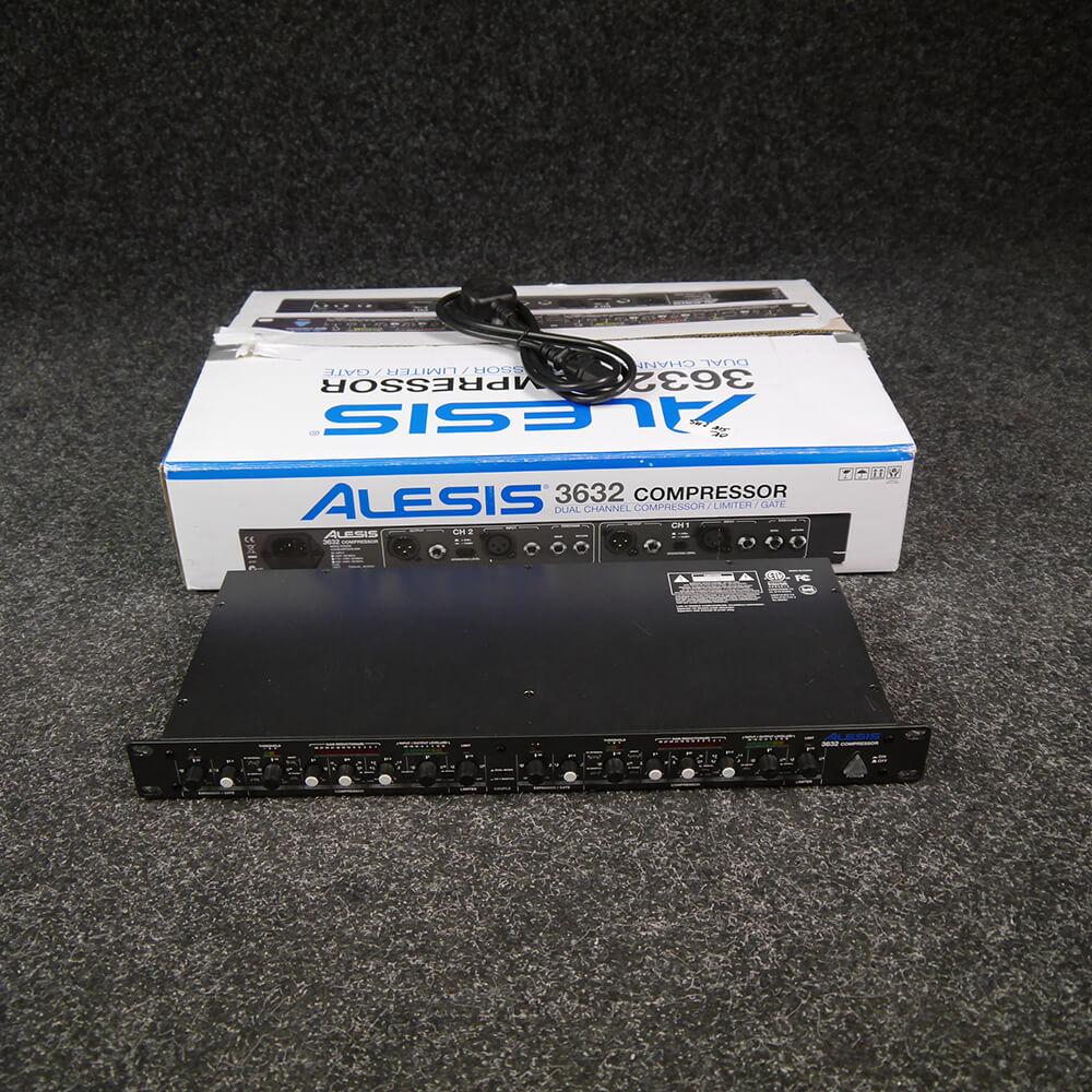 Alesis 3632 Compressor 2-Channel Compressor w/Box - 2nd Hand