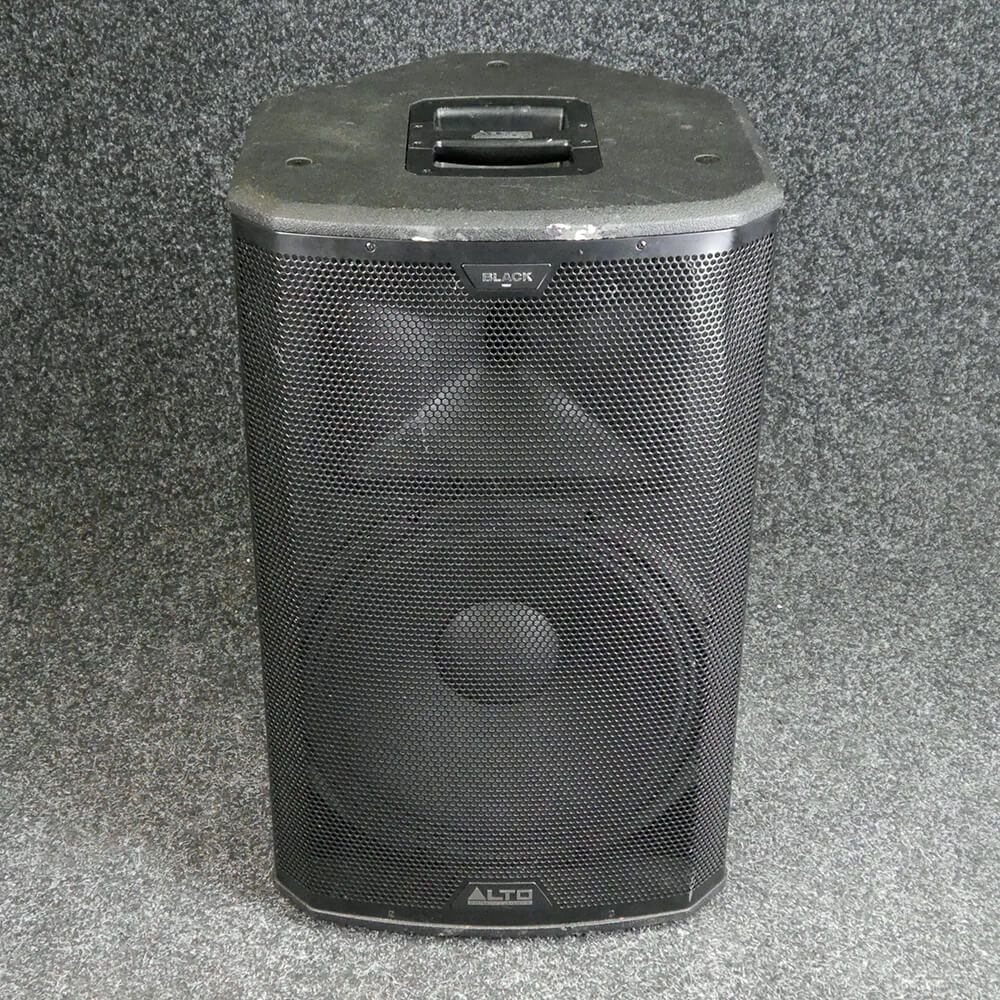 alto black 15 loudspeaker 2nd hand collection only rich tone music. Black Bedroom Furniture Sets. Home Design Ideas