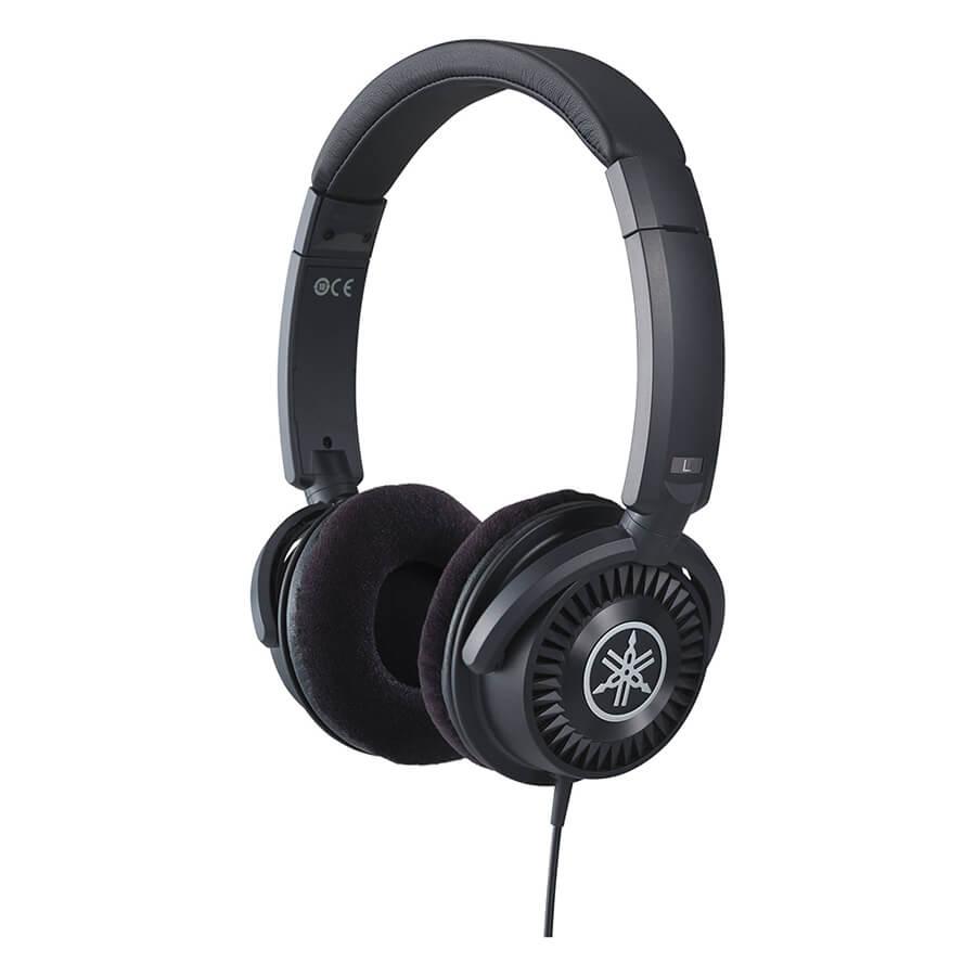 Yamaha Hph150b Open Back Headphones Black Rich Tone Music