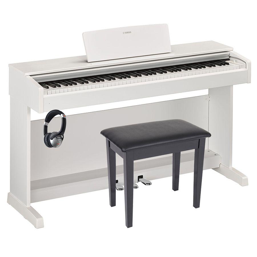 yamaha arius ydp 143 digital piano white package. Black Bedroom Furniture Sets. Home Design Ideas