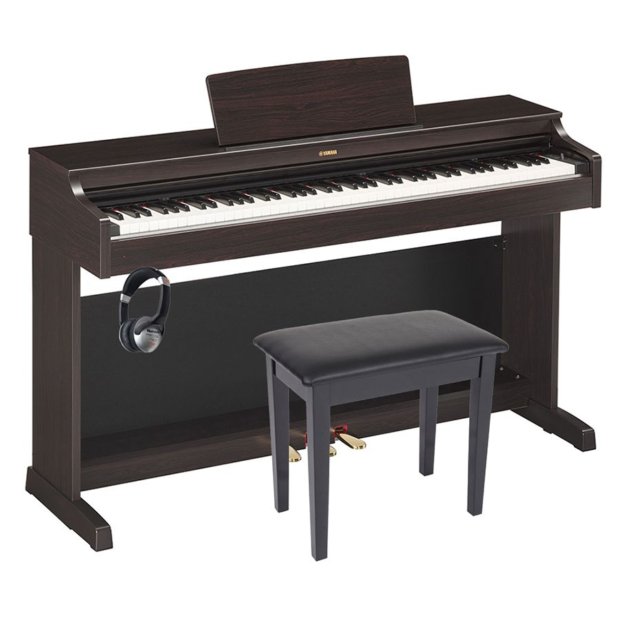 yamaha arius ydp 163 digital piano rosewood package