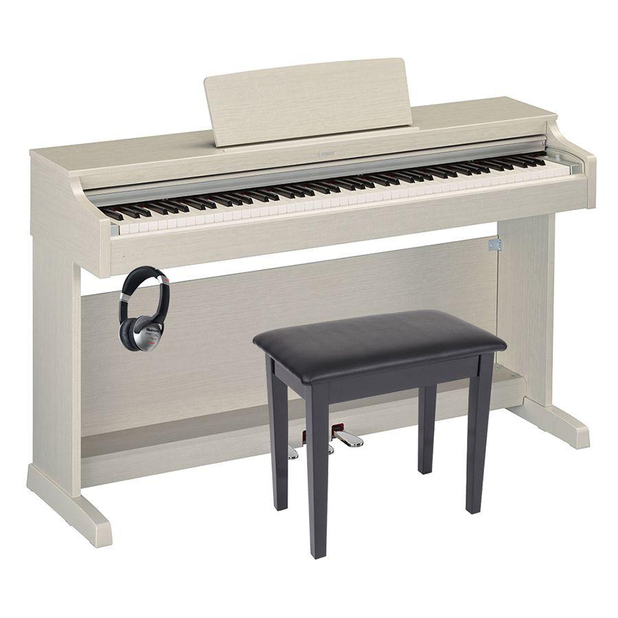 yamaha arius ydp 163 digital piano white ash package rich tone music. Black Bedroom Furniture Sets. Home Design Ideas