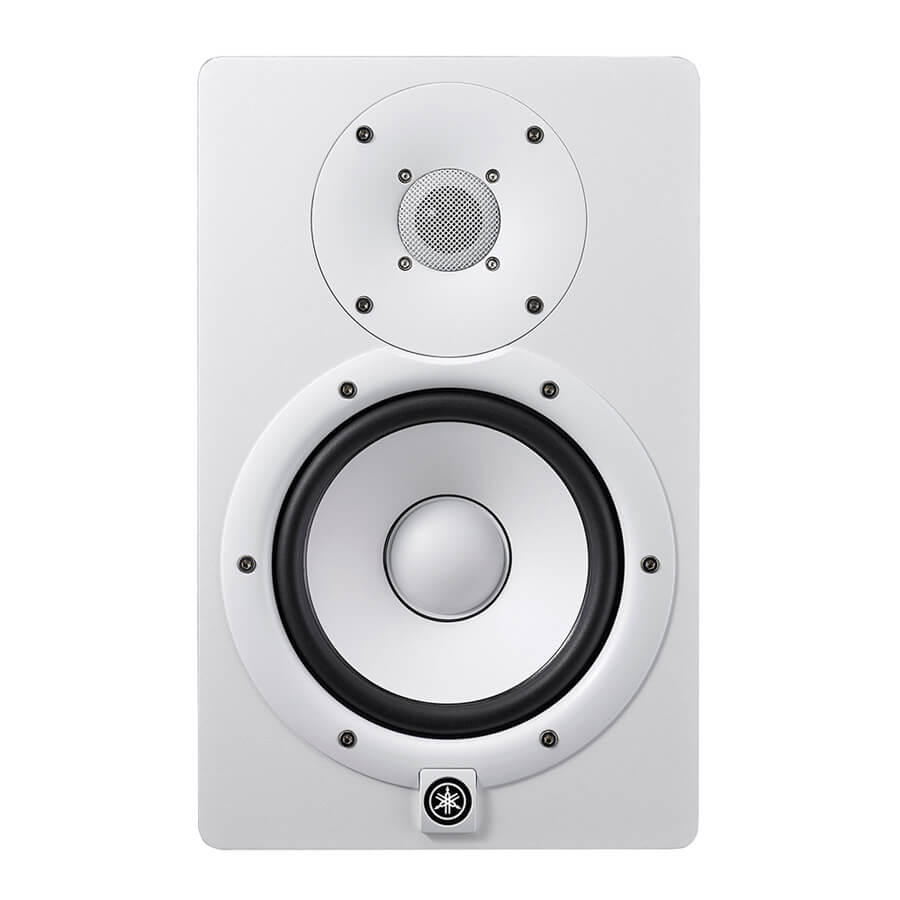 yamaha hs7 monitor speaker white rich tone music. Black Bedroom Furniture Sets. Home Design Ideas
