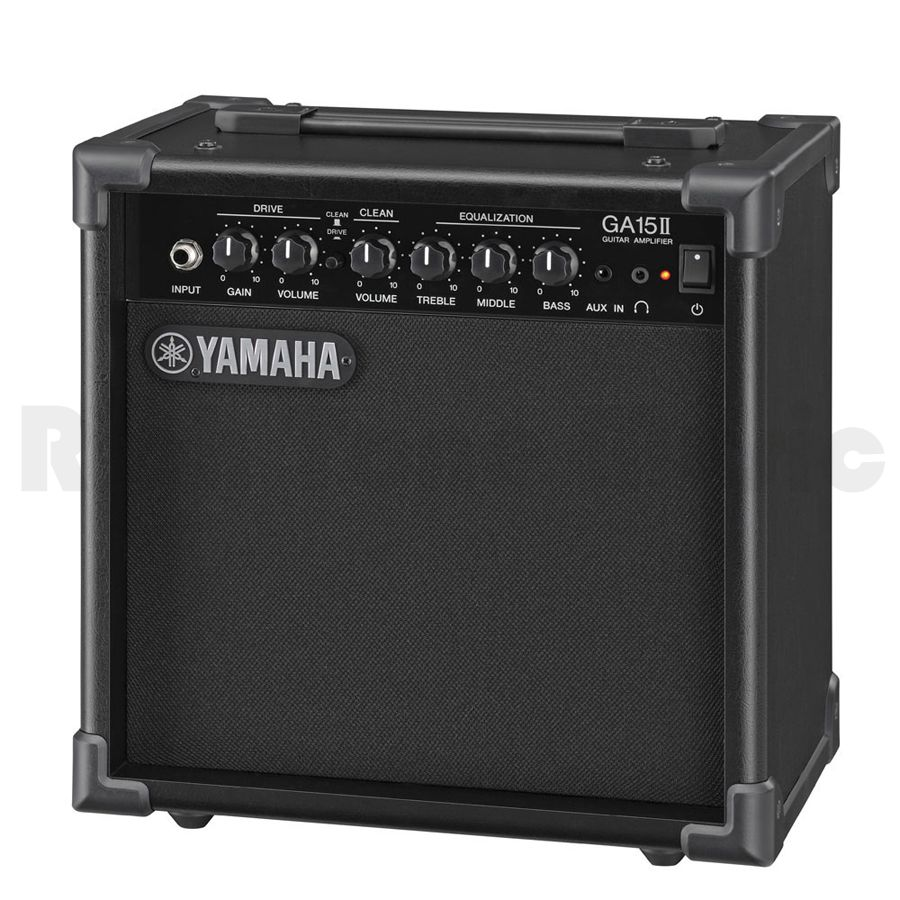 yamaha ga15 ii electric guitar amplifier rich tone music