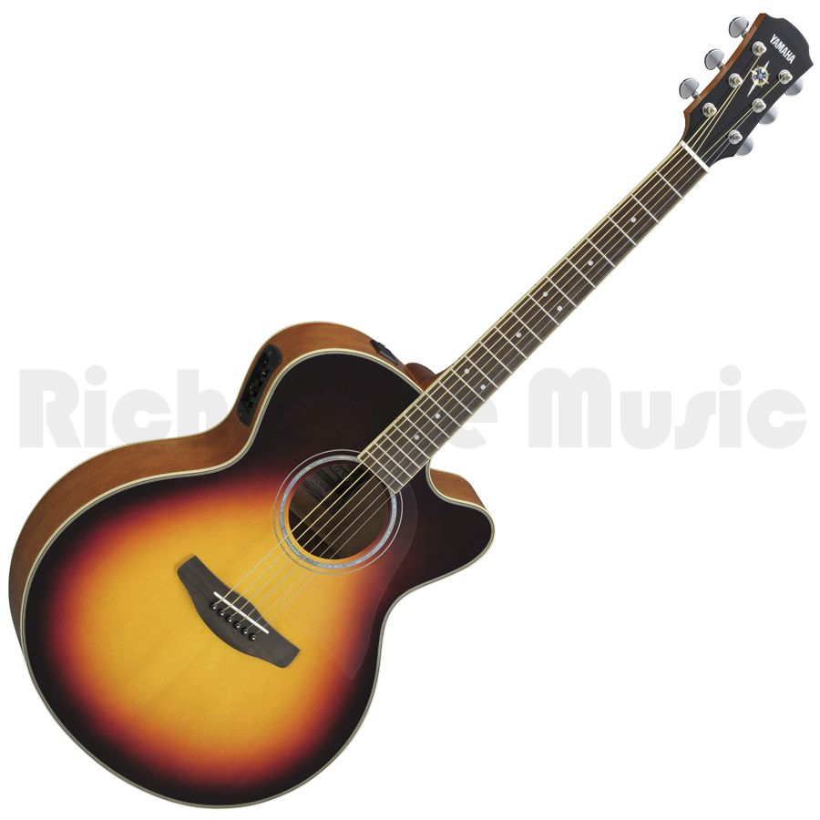 Yamaha cpx500iii old violin sunburst acoustic guitar for Yamaha vc5 cello review