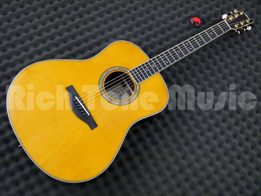 yamaha ll ta transacoustic guitar vintage tint rich. Black Bedroom Furniture Sets. Home Design Ideas