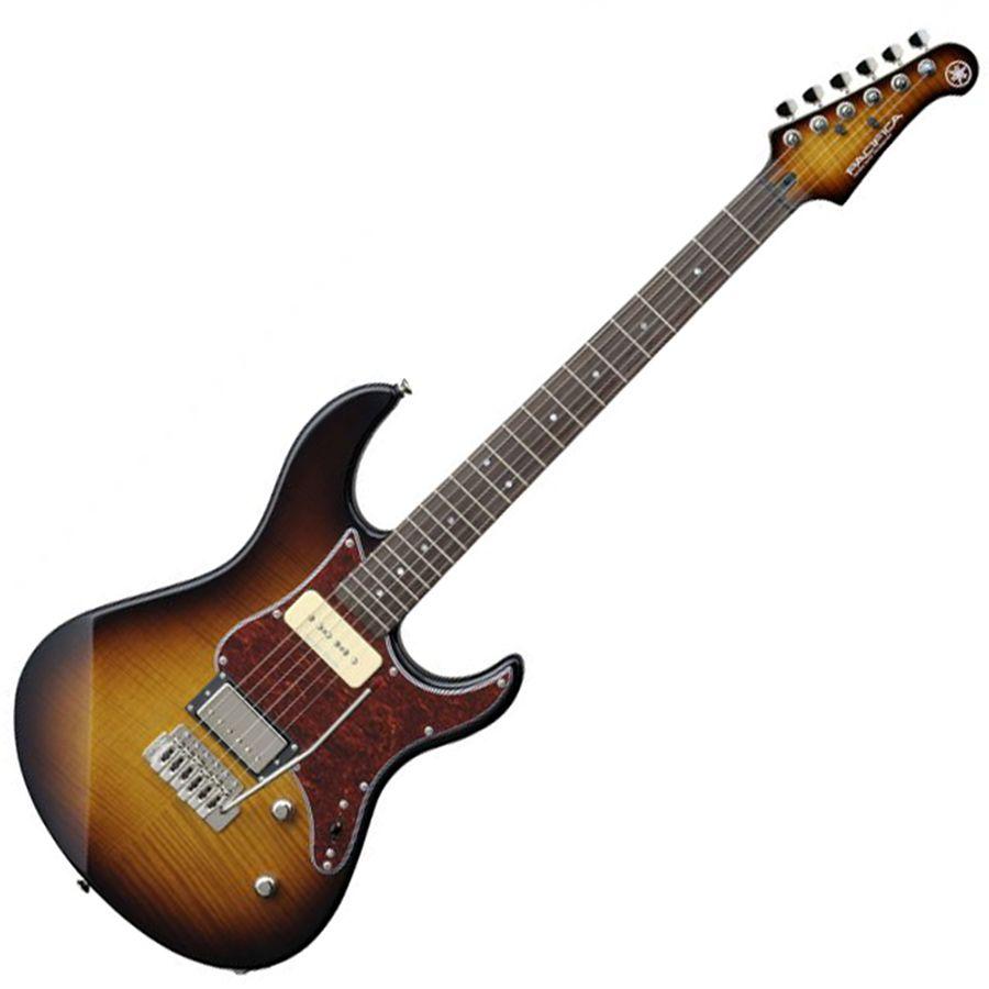 yamaha pacifica 611vfm electric guitar tobacco sunburst rich tone music. Black Bedroom Furniture Sets. Home Design Ideas