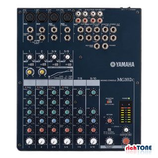 Yamaha MG102C Analogue Live Sound Mixer