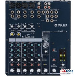 Yamaha MG82CX Analogue Compact Mixer