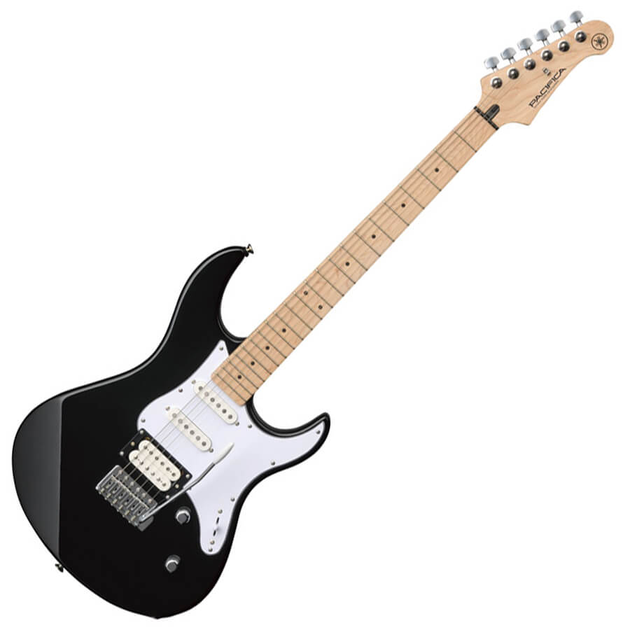 yamaha pacifica 112vm black rich tone music. Black Bedroom Furniture Sets. Home Design Ideas