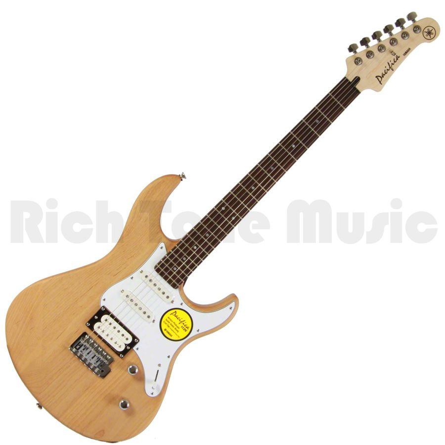 yamaha pacifica 112v electric guitar yellow natural. Black Bedroom Furniture Sets. Home Design Ideas