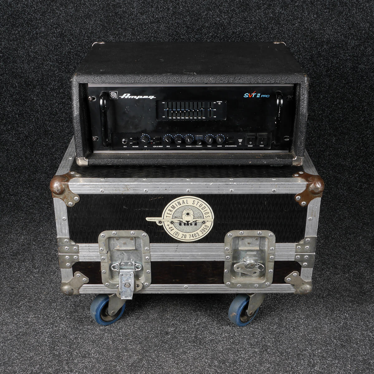 Ampeg SVT II Pro Head (A67) w/Flight Case - 2nd Hand **COLLECTION ONLY**