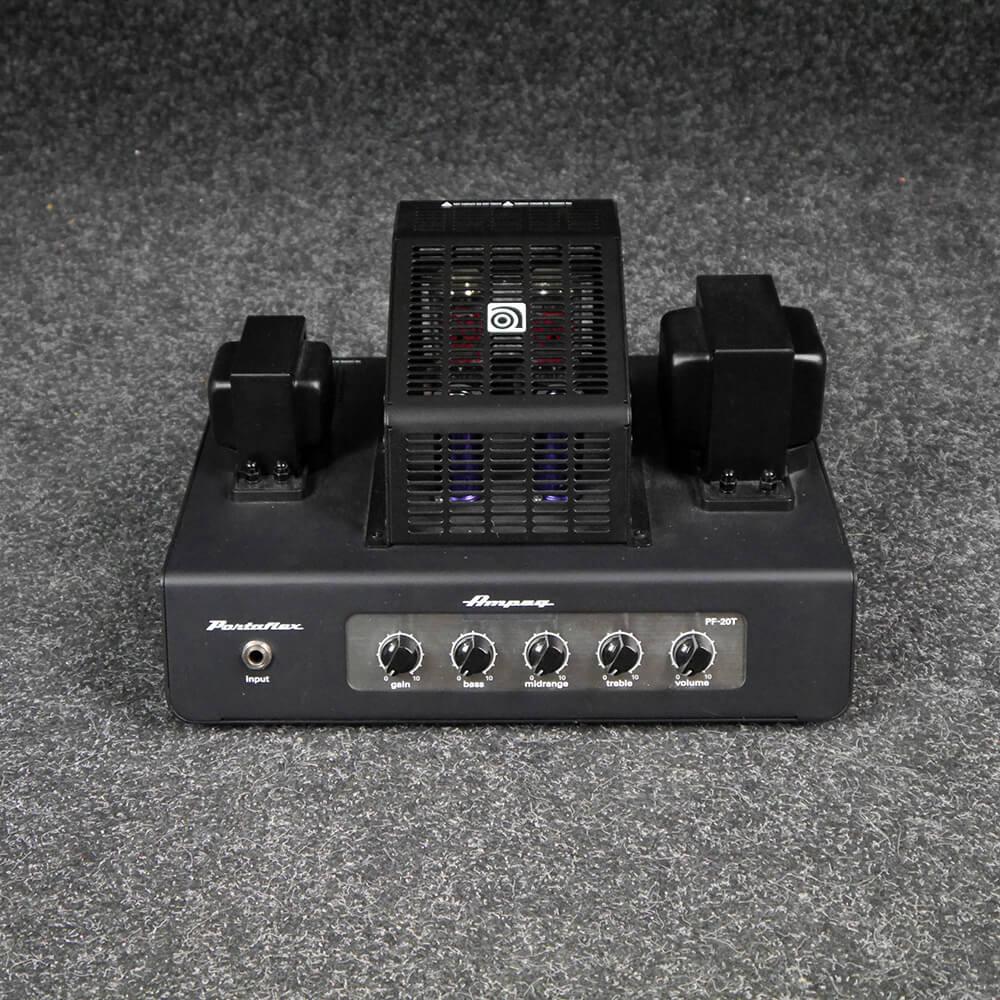 ampeg pf 20t portaflex 20w bass head 2nd hand rich tone music. Black Bedroom Furniture Sets. Home Design Ideas