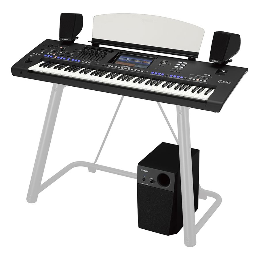 Yamaha Genos Workstation Keyboard : yamaha genos digital workstation arranger keyboard speakers rich tone music ~ Vivirlamusica.com Haus und Dekorationen