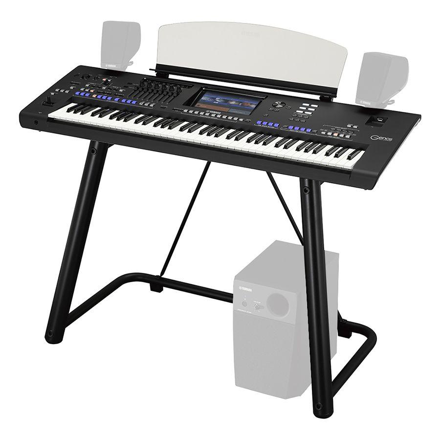 yamaha genos digital workstation arranger keyboard with stand rich tone music. Black Bedroom Furniture Sets. Home Design Ideas