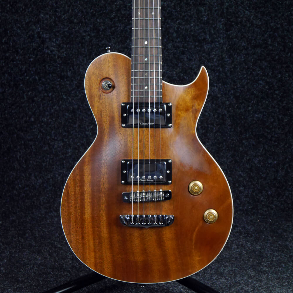 Aria PE-TR1 Electric Guitar - Stained Brown - 2nd Hand