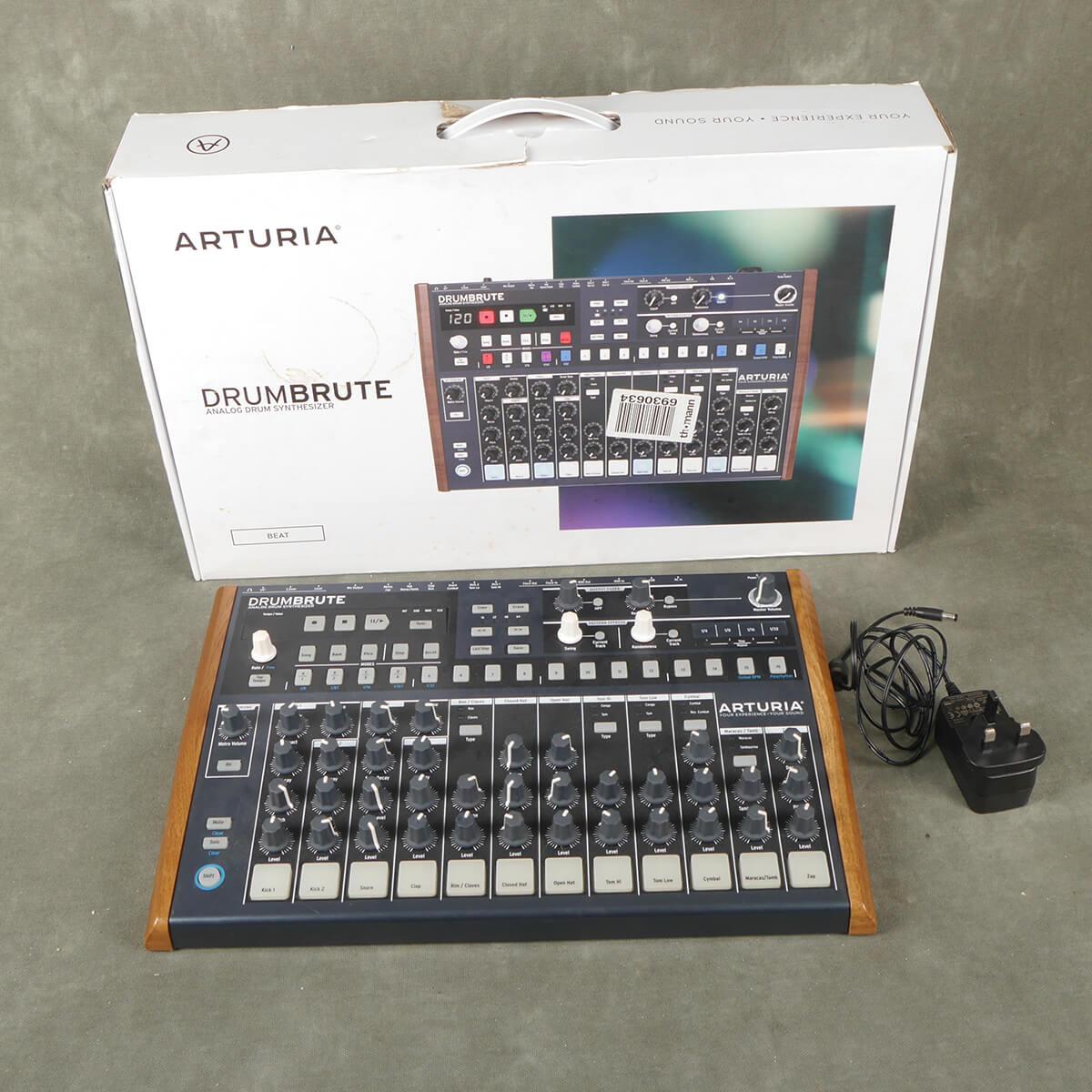 Arturia Drumbrute Drum Machine w/Box & PSU - 2nd Hand