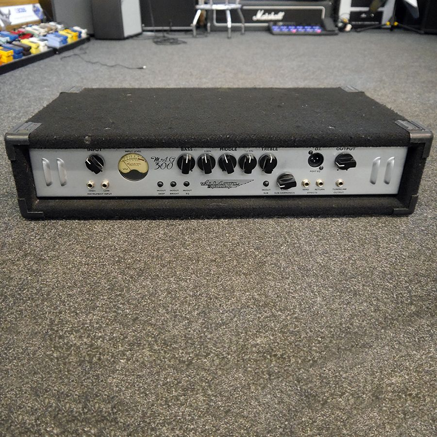ashdown mag 300 bass amp head 2nd hand rich tone music. Black Bedroom Furniture Sets. Home Design Ideas