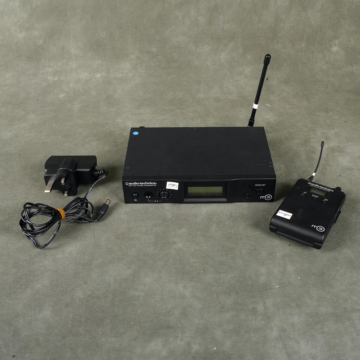 Audio Technica M3 In-Ear Monitoring Wireless Kit - 2nd Hand