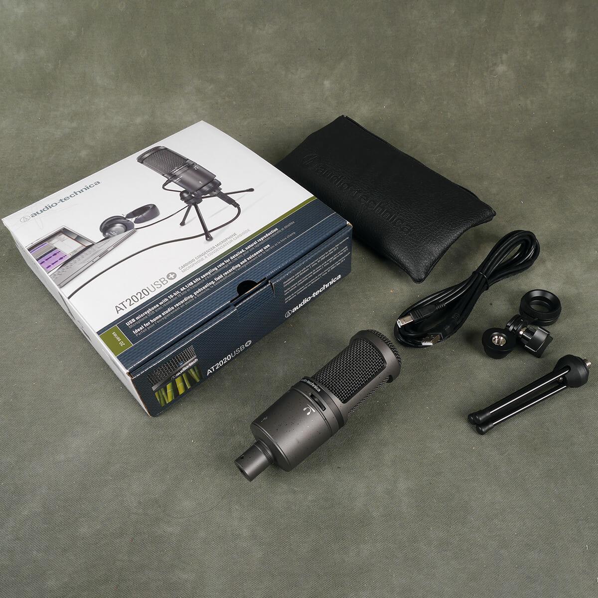 Audio Technica 2020+ USB Condenser Microphone w/Box - 2nd Hand