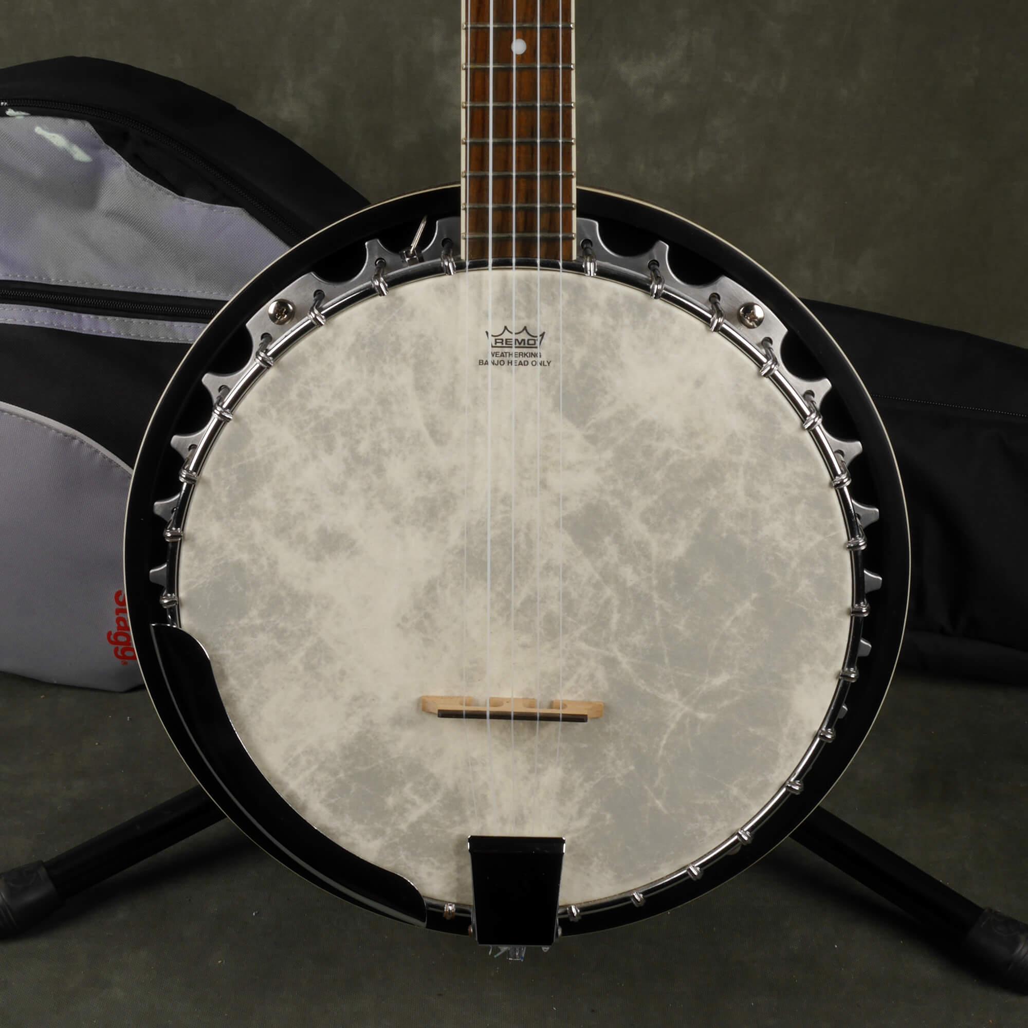 Barnes & Mullins BJ304 Tenor Banjo w/Gig Bag - 2nd Hand ...