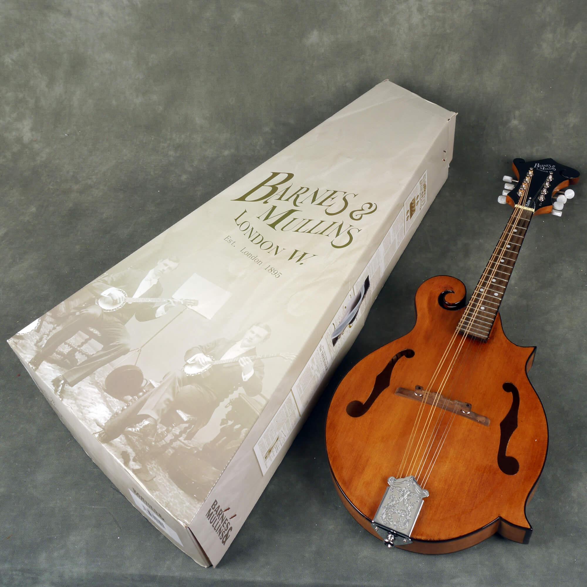 Barnes and Mullins BM650 Salvino Mandolin w/Box - 2nd Hand ...