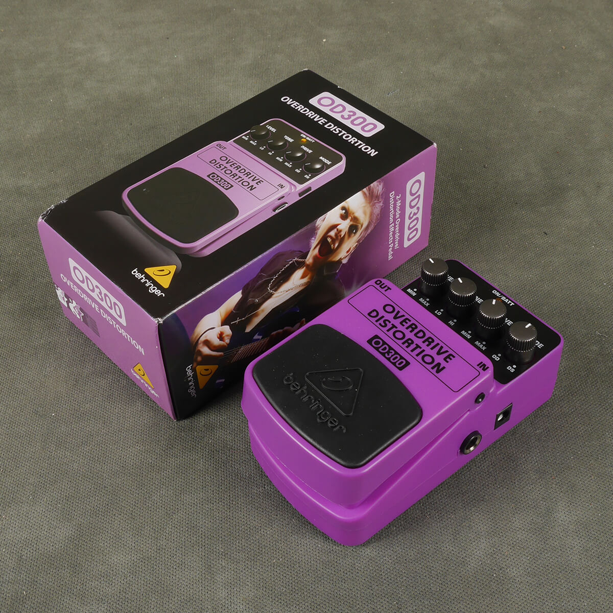 Behringer OD300 Overdrive Distortion FX Pedal w/Box - 2nd Hand