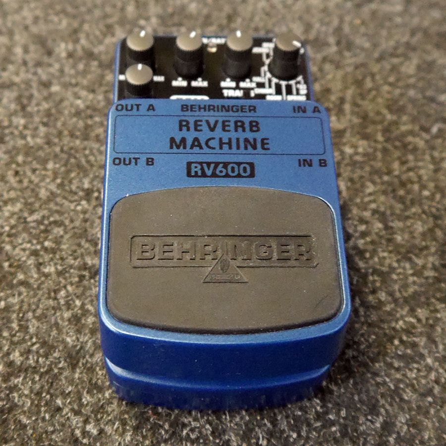 Behringer RV600 Reverb Machine FX Pedal - 2nd Hand