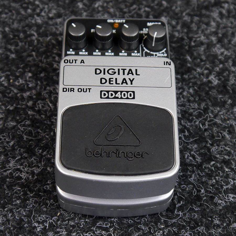 Behringer DD400 Digital Delay FX Pedal - 2nd Hand
