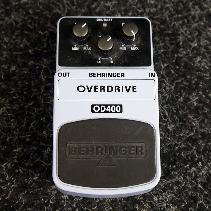 Behringer OD-400 Overdrive FX Pedal - 2nd Hand
